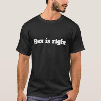 Rex ist rechter = lustiger T - Shirt-Kommentar T-Shirt