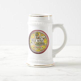 Rex Wachs: Handgemachtes Schnurrbart-Wachs-Bier Bierglas