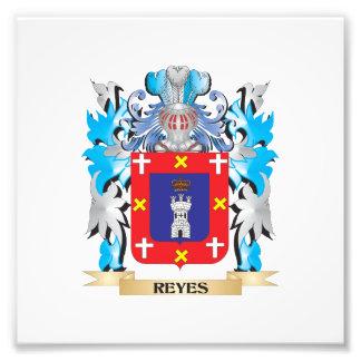 Reyes-Wappen - Familienwappen Photodrucke
