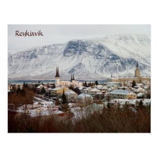 Reykjavik, Island Postkarte