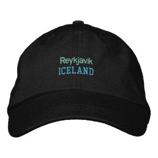 REYKJAVIK-Kappe Bestickte Baseballkappe