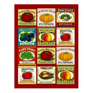 Rezept-Karten-Postkarten-Entwurf, zum von Fav Postkarten