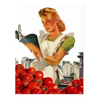 Rezept-Karten-Postkarten-Entwurf, zum von Fav Reze Postkarte
