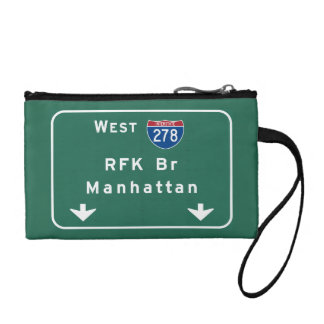 RFK Brücke I-278 zwischenstaatliches NYC New York Kleingeldbörse