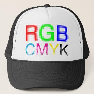 RGB CMYK TRUCKERKAPPE