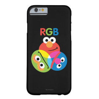 Rgb-Sesame Street Barely There iPhone 6 Hülle