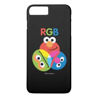 Rgb-Sesame Street iPhone 8 Plus/7 Plus Hülle