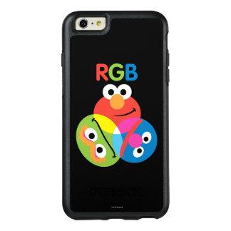 Rgb-Sesame Street OtterBox iPhone 6/6s Plus Hülle