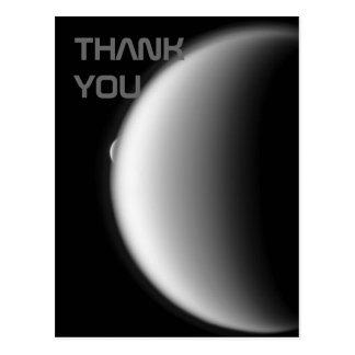 Rhea taucht vom Titanen danken Ihnen Postkarte auf