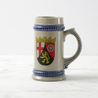 Rheinland-Pfalz Wappen Bierkrug