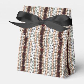 Rhinestones und Perlen - Vintager Schmuck Geschenkschachtel