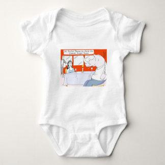 Rhino-blindes Datums-lustige T-Shirts-Tassen u. Baby Strampler