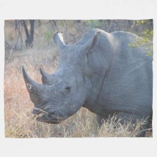 Rhino-Fleece-Decke Fleecedecke