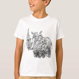 RhinoRhino scherzt T - Shirt