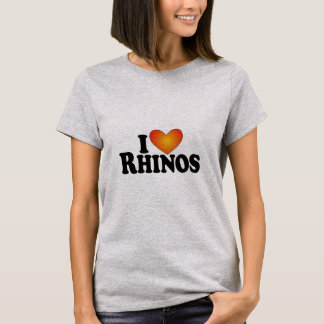 Rhinos I (Herz) - produktreiche T - Shirts Lite