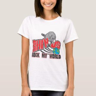 Rhinos schaukeln meine Welt T-Shirt