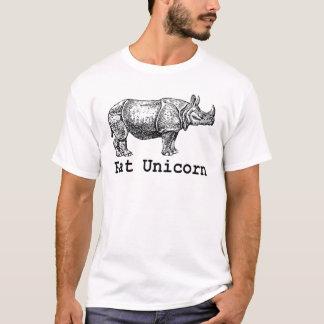 Rhinos sind gerade fetter Unicorns-Weiß-T - Shirt