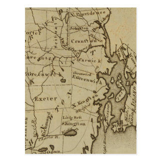 Rhode Island 4 Postkarte