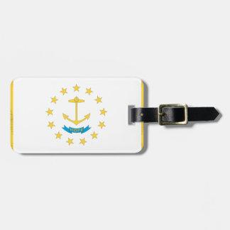 RHODE ISLAND Flagge - Gepäckanhänger