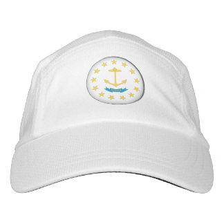 RHODE ISLAND Flaggen-Entwurf - Headsweats Kappe