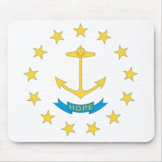 RHODE ISLAND Flaggen-Entwurf - Mousepad
