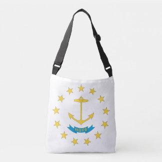 RHODE ISLAND Flaggen-Entwurf - Tragetaschen Mit Langen Trägern