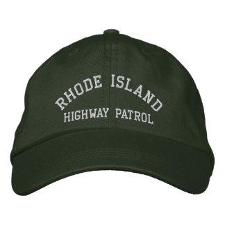 Rhode Island, LANDSTRASSEN-PATROUILLE Bestickte Kappe