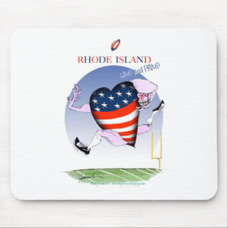 Rhode Island laute und stolz, tony fernandes Mousepad