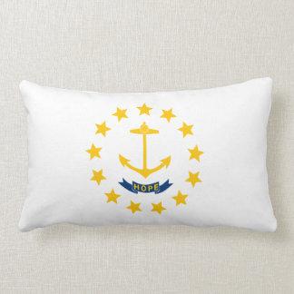 Rhode Island Staats-Flagge Lendenkissen