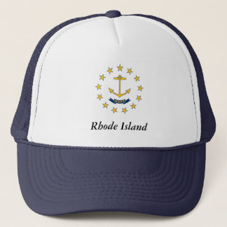 Rhode Island Staats-Flagge Truckerkappe