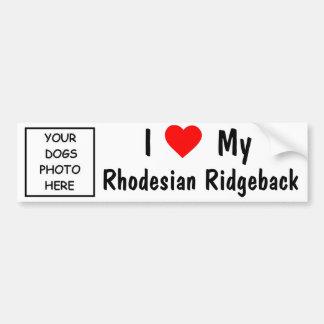 Rhodesian Ridgeback Autoaufkleber