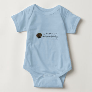 rhodesian ridgeback baby strampler