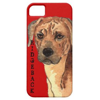 Rhodesian Ridgeback Farbblock iPhone 5 Hülle