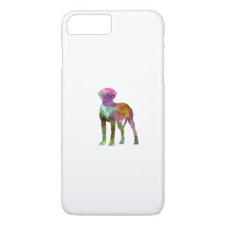 Rhodesian Ridgeback im Watercolor iPhone 8 Plus/7 Plus Hülle