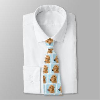 Rhodesian Ridgeback Malerei - ursprüngliche Krawatte