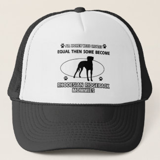 Rhodesian Ridgeback Mama-Entwürfe Truckerkappe