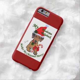 Rhodesian Ridgeback Weihnachten Barely There iPhone 6 Hülle