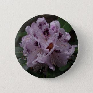 Rhododendron-Blumen-Abzeichen Runder Button 5,1 Cm