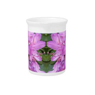 Rhododendron-Blumen-Krug Getränke Pitcher