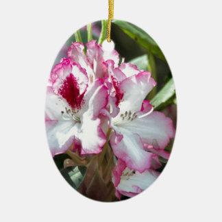 Rhododendron Keramik Ornament