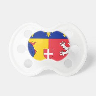 Rhône-Alpes Flagge Schnuller