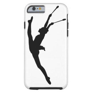 Rhythmische Gymnastik iPhone Fall Tough iPhone 6 Hülle