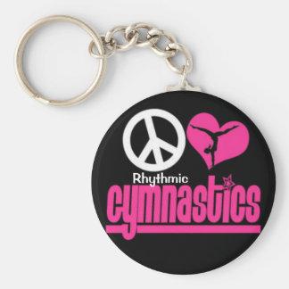 Rhythmische Gymnastik keychain Geschenke und Schlüsselanhänger