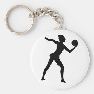 Rhythmische Gymnastik Keychain Schlüsselanhänger