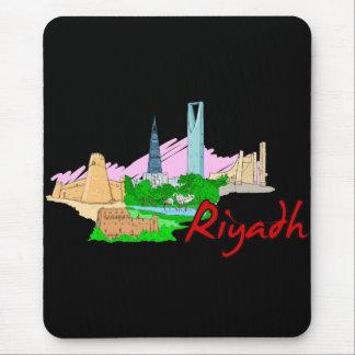 Riad - Saudi-Arabien .png Mousepad