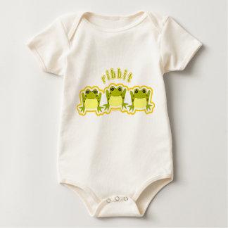 Ribbit Bio Baby Strampler