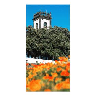 Ribeira groß, Azoren Photokartenvorlage