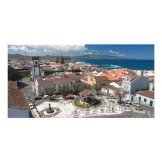 Ribeira groß, Azoren Photogrußkarten