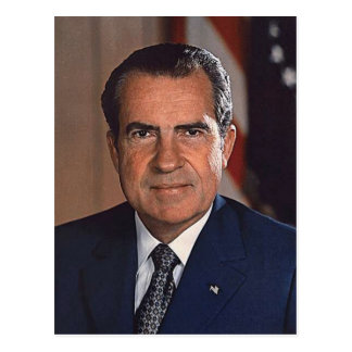 Richard M. Nixon 37 Postkarte