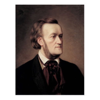 Richard Wagner Postkarte
